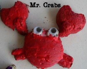 Paper Mache Crabs