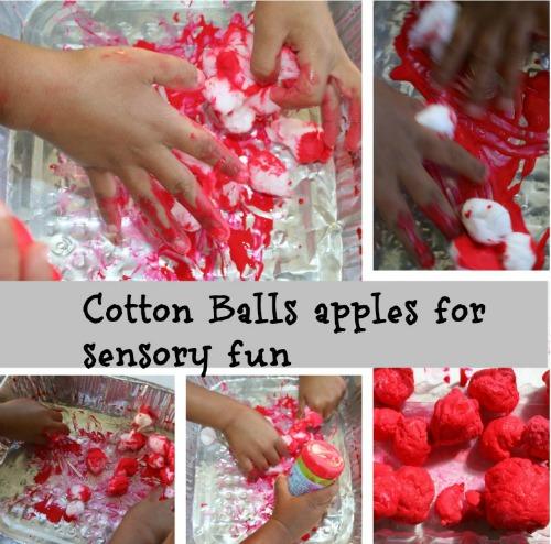 4 making apples craft