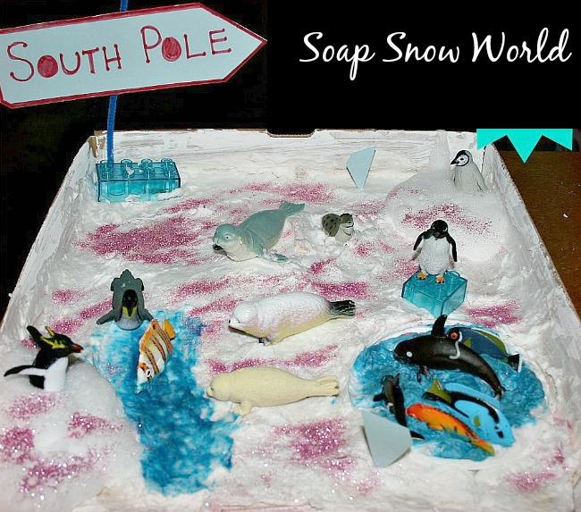 Ivory Soap Snow World