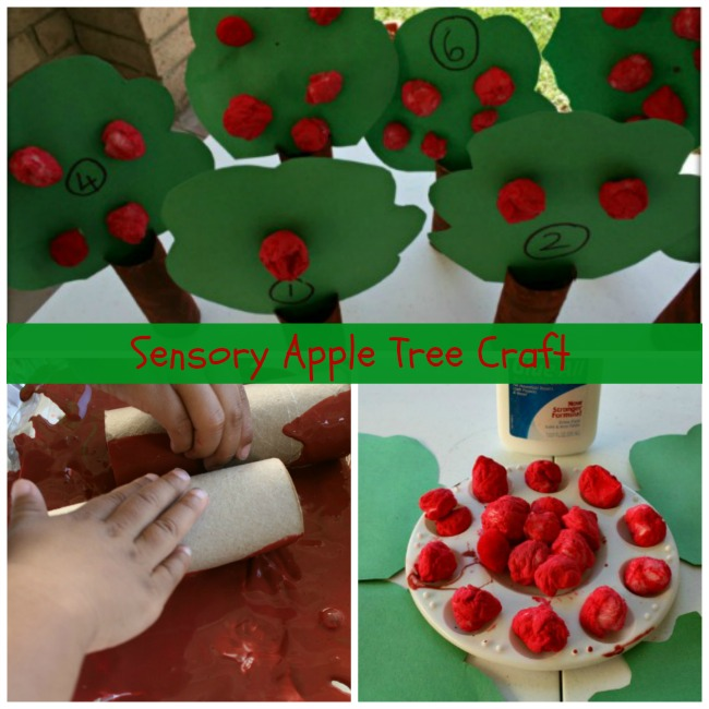 apple tree crafts for kids