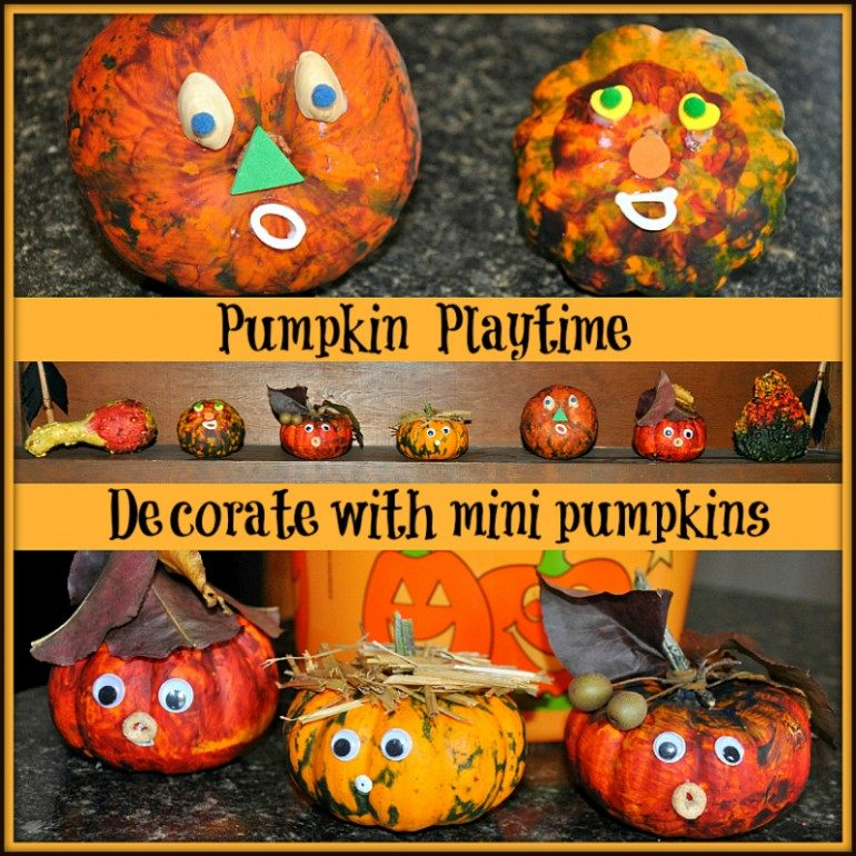 Mini Pumpkin Crafts