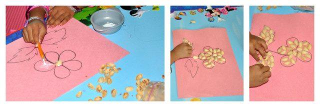 Pistachio Shells Craft Fun Littles