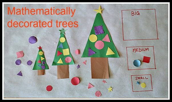 Christmas activities with math
