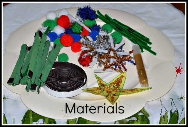 activities for christmas materials