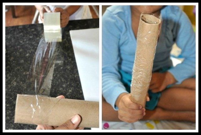 christmas crafts activity with paper roll- blogmemom