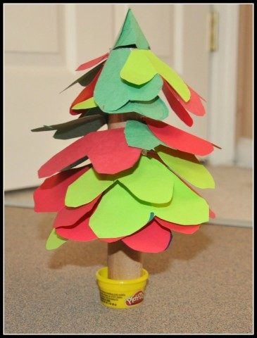 christmas tree crafts - blogmemom