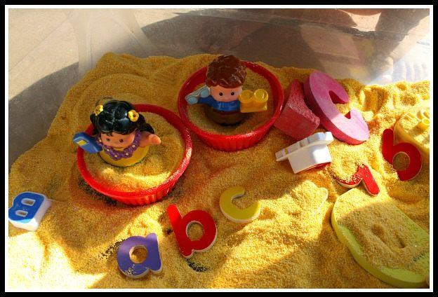 sensory box for kids