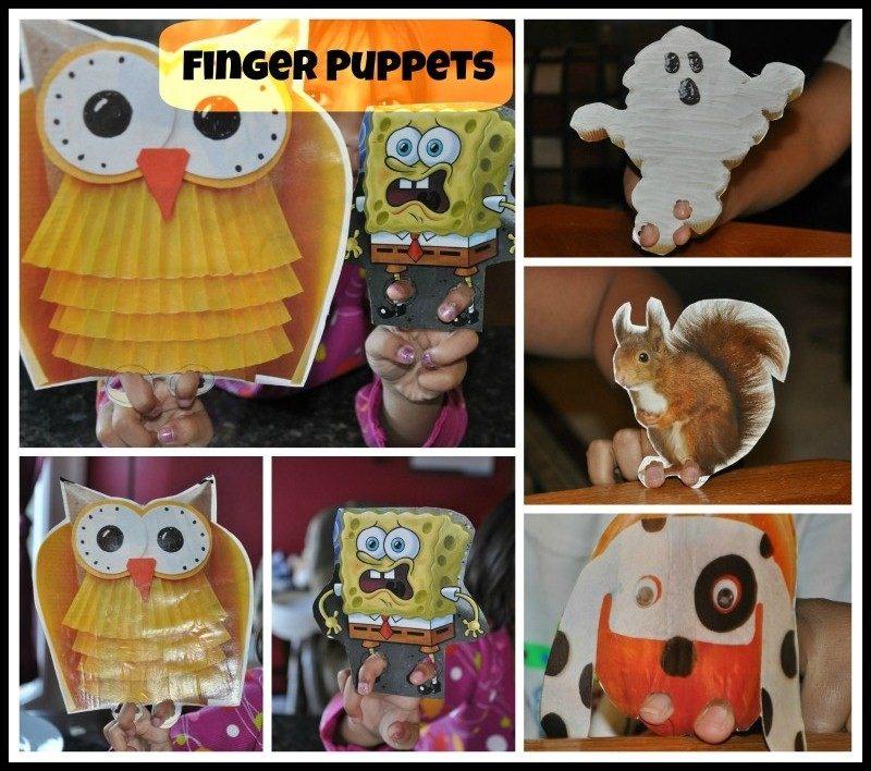 hand puppets -blogmemom