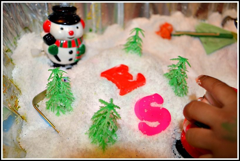 winter sensory activities