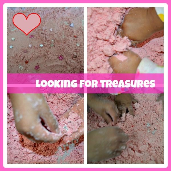 valentines day sensory play