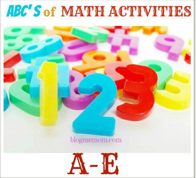 MATH ACTIVITIES A-E