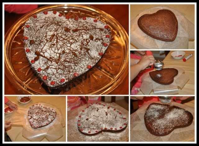 Valentines day cooking
