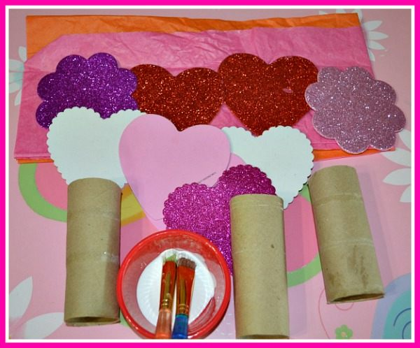 Valentine's day crafts butterflies