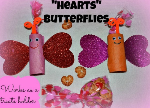 Valentines day crafts with hearts