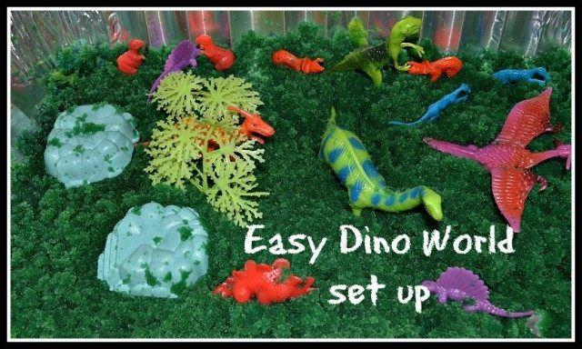 dinosaur small world play