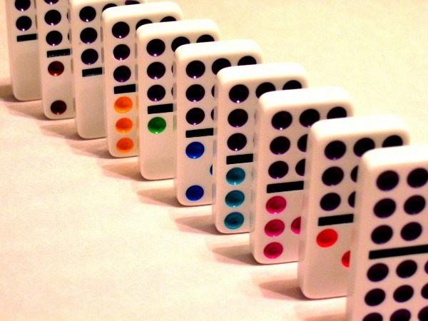 dominoes math
