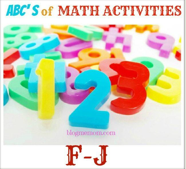 math activities f-j
