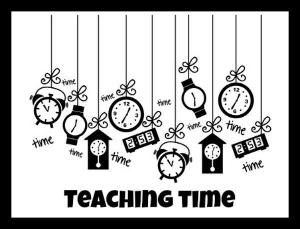 math teaching time