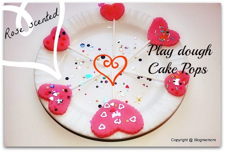 playdough cake pops valentines day activities