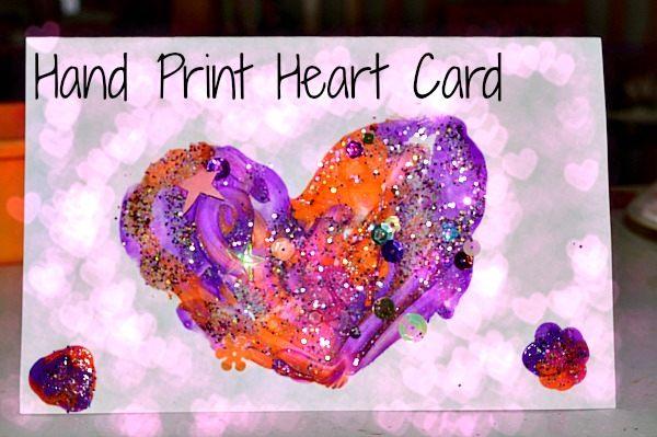 salt glitter card