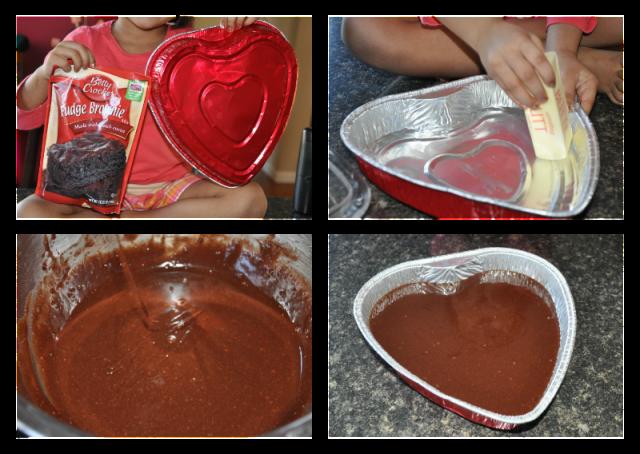 valentine baking for kids