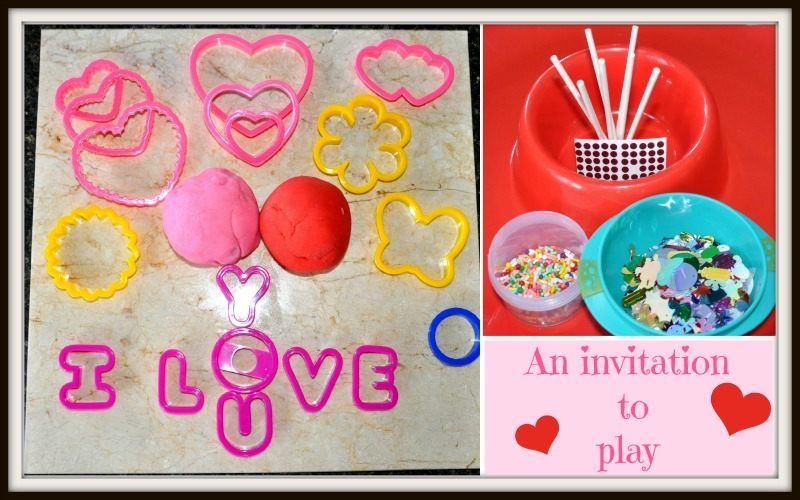 valentines day activities with playdough invitation to play