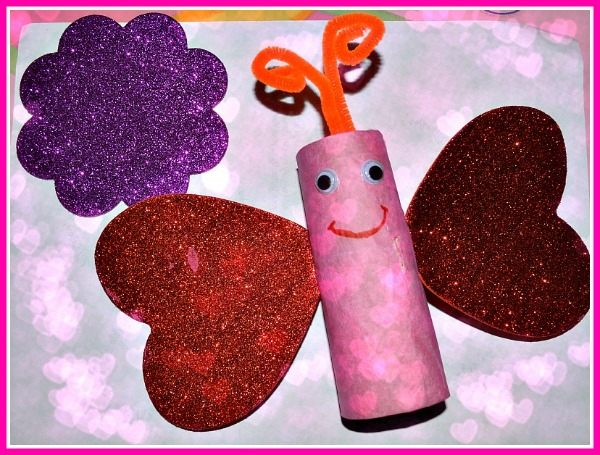Valentine S Day Crafts Hearts Butterflies Fun Littles