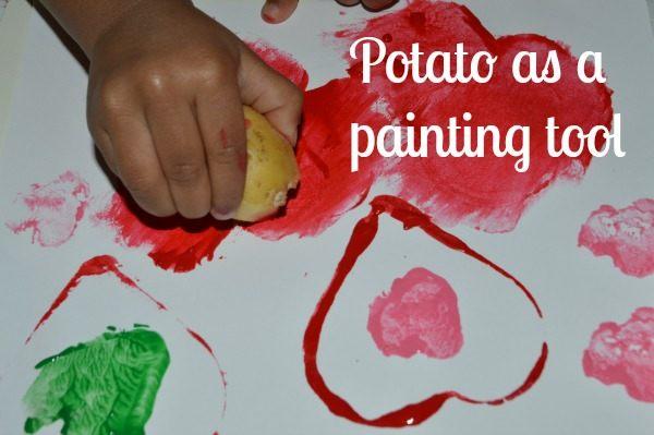 Valentine art for kids