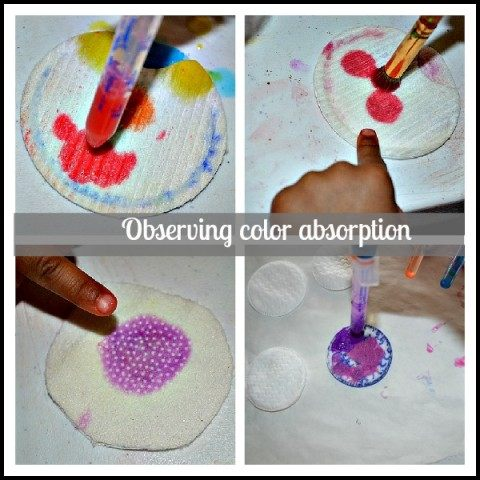 art projects with color mixing