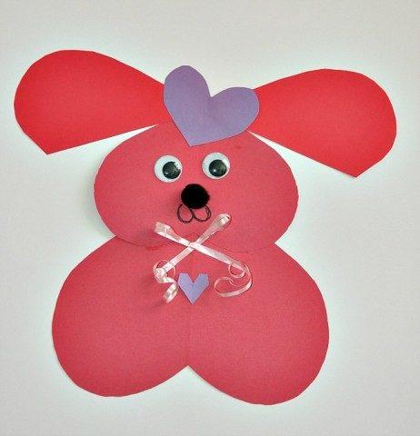 crafts for valentine kids