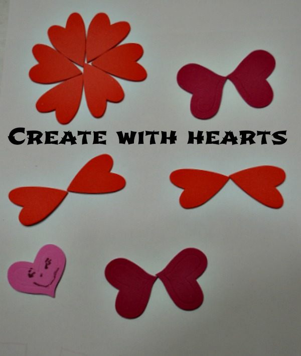 create critter for valentine activities