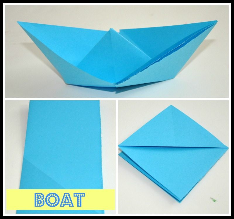 How to make an Easy Origami Boat - YouTube | 749x800