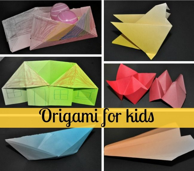Easy Origami for kids Hummingbird - How to make Origami ... | 573x650