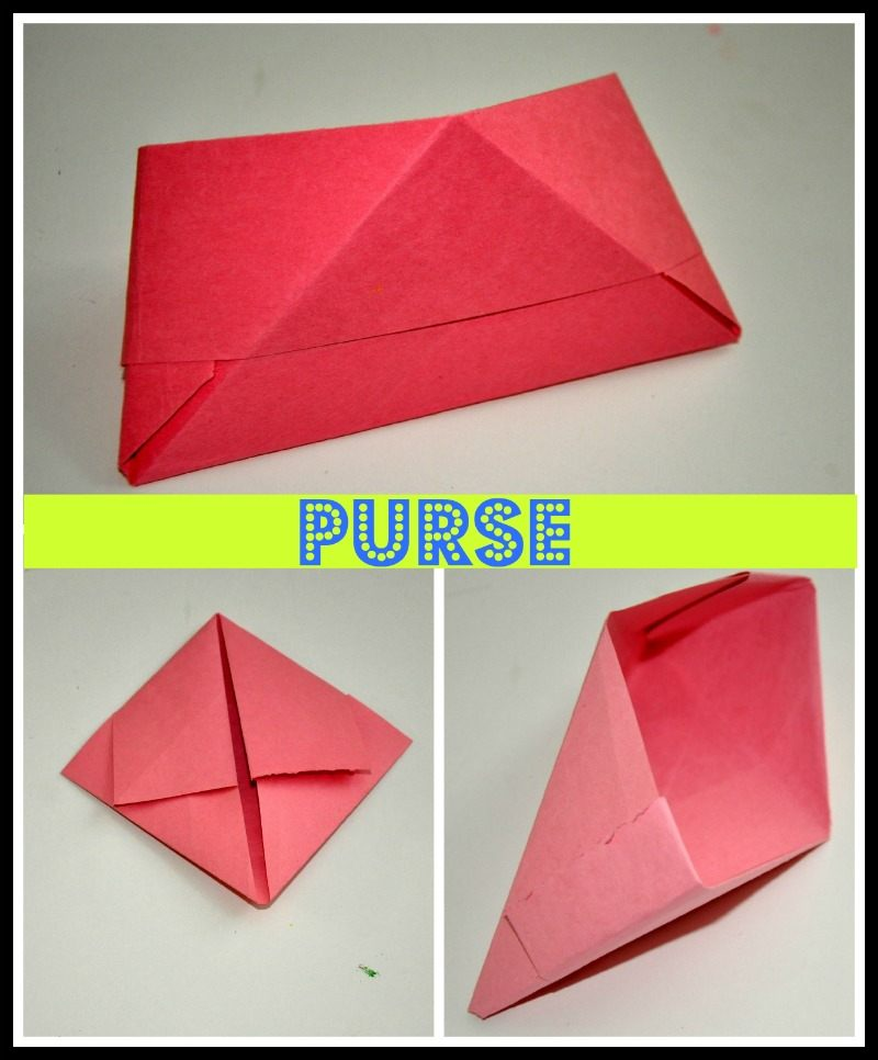 How to Make an Origami Purse | 966x800