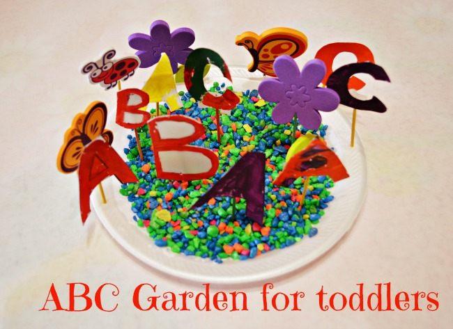 Spring Craft Abc Garden Fun Littles