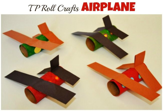 tp roll airplane craft