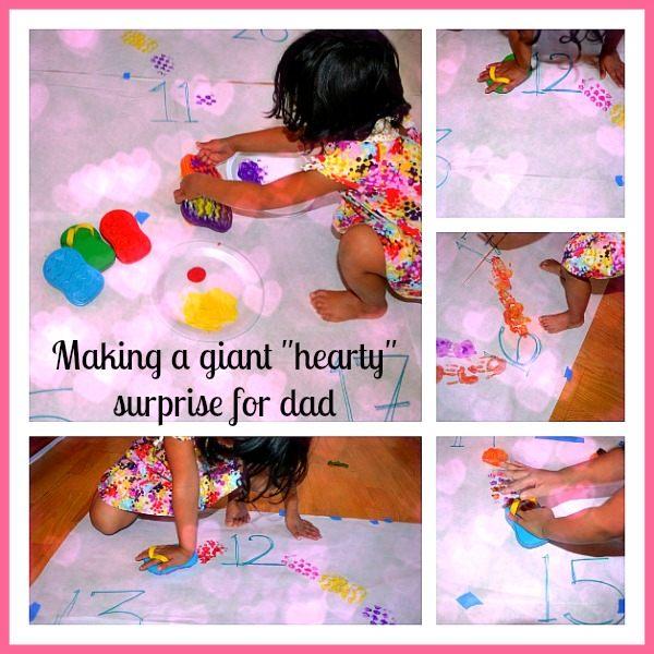 valentine's day activities art daddy