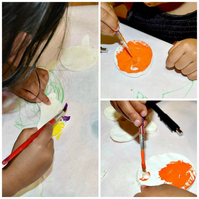 art projects for kids with cornstarch