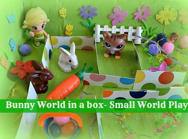 easter activities kids small world play