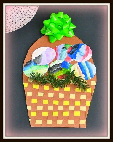 easter basket from blogme