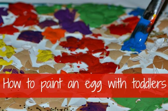 easter crafts for kids egg shell painting