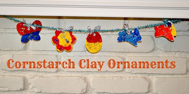 homemade cornstarch clay easter cratts