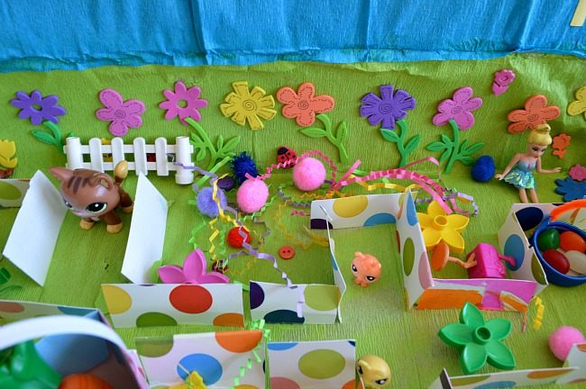imaginative play for kids bunny