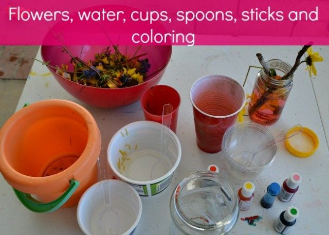 materials for spring activities