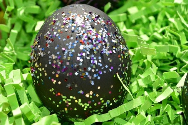 scratch eggs easter decoration