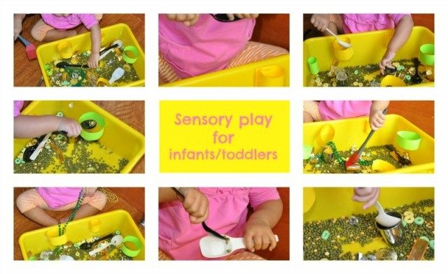 sensory bin for infants