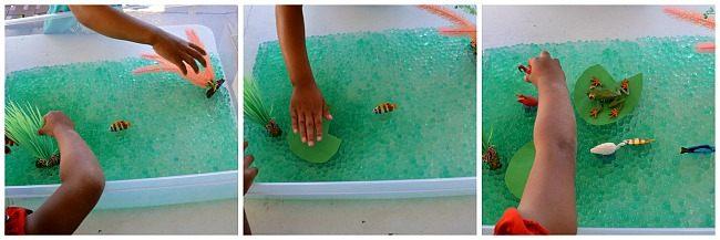 WATER BEADS SENSORY ACTIVITIES