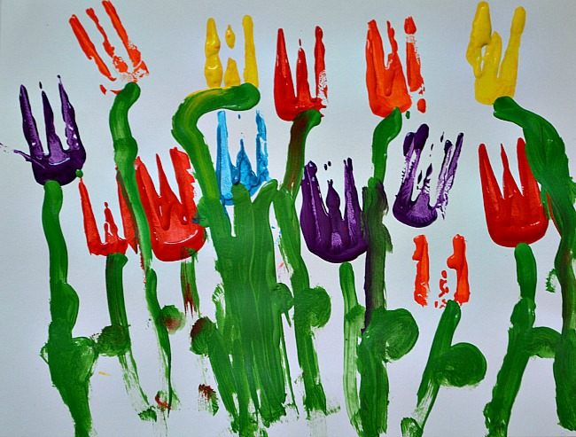 art projects for kids with forks