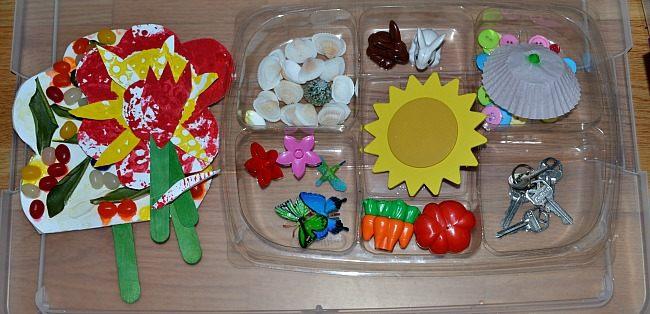 book activities sensory activities my garden