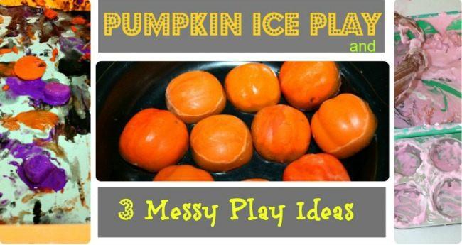 halloween sensory messy play for kids